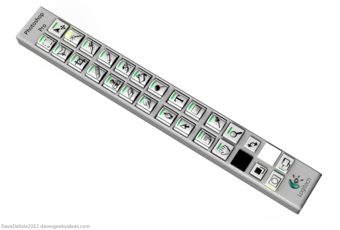 Photoshop keyboard by Dave's Geeky Ideas