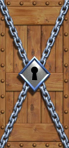 Zelda Door Lock Chain 2012 Dave Delisle