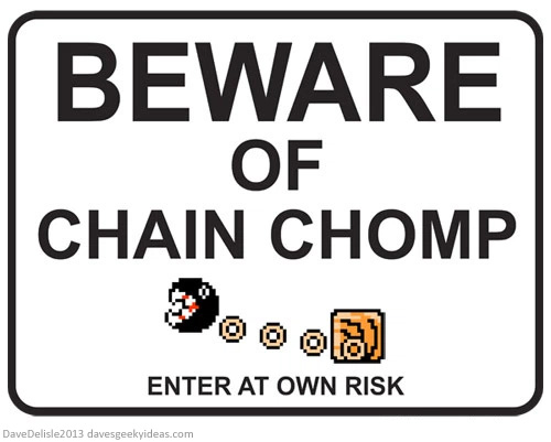 Chain-Chomp-Mario-Sign-by-Daves-Geeky-Ideas