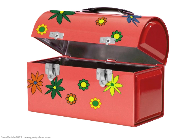 Mr. Dressup Lunch Box Trunk Design by Dave Delisle davesgeekyideas dave's geeky ideas Canadian