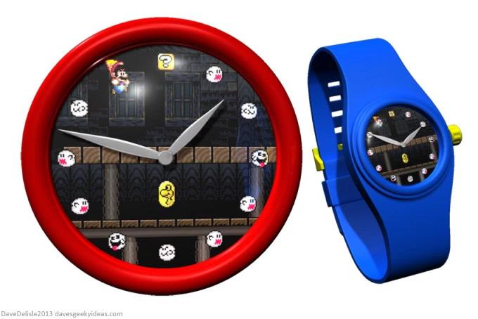 Super Mario World Clock