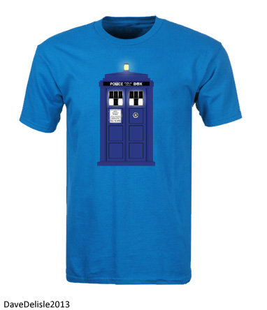 Tardis LED T-Shirt