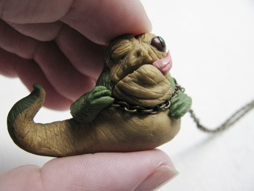 Jabba The Hutt Necklace