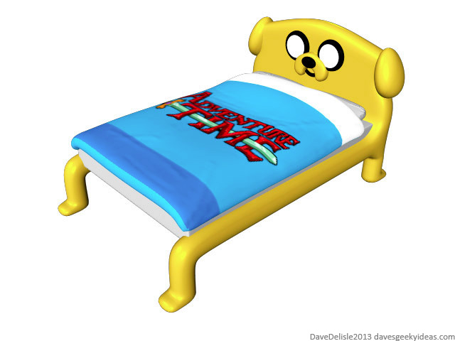 Adventure Time Furniture Bed Table Jack The Dog