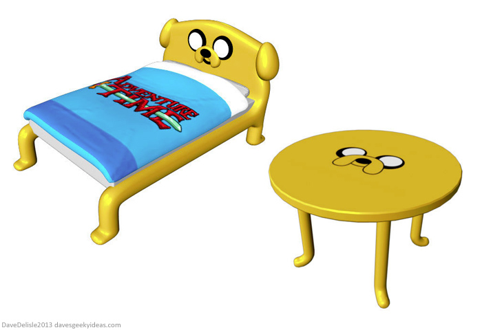 Jake The Dog Furniture by davesgeekyideas