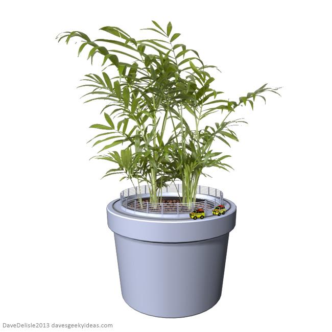 Jurassic Park Planting Pots Plants