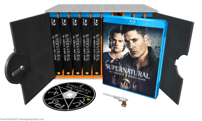 Supernatural Collection Blu-Ray DVD Case