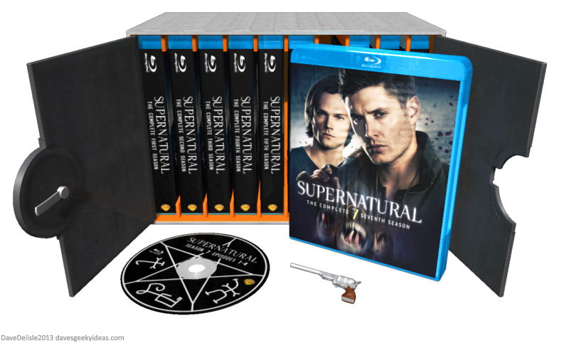 Supernatural Blu Ray Case The Devils Gate Daves Geeky