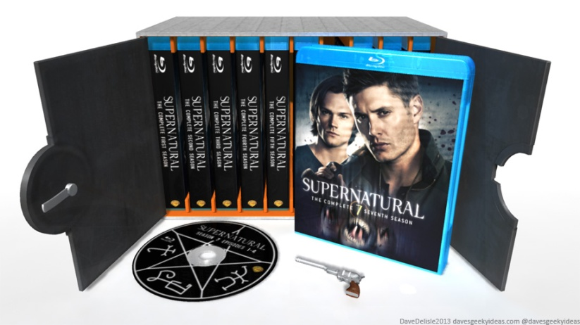 Supernatural Blu-Ray Case: The Devil's Gate DVD