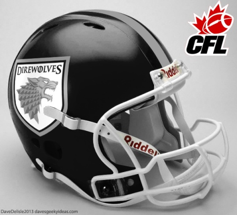 Direwolves Footbal Team CFL 2013