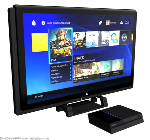 PS4 LCD TV Sony
