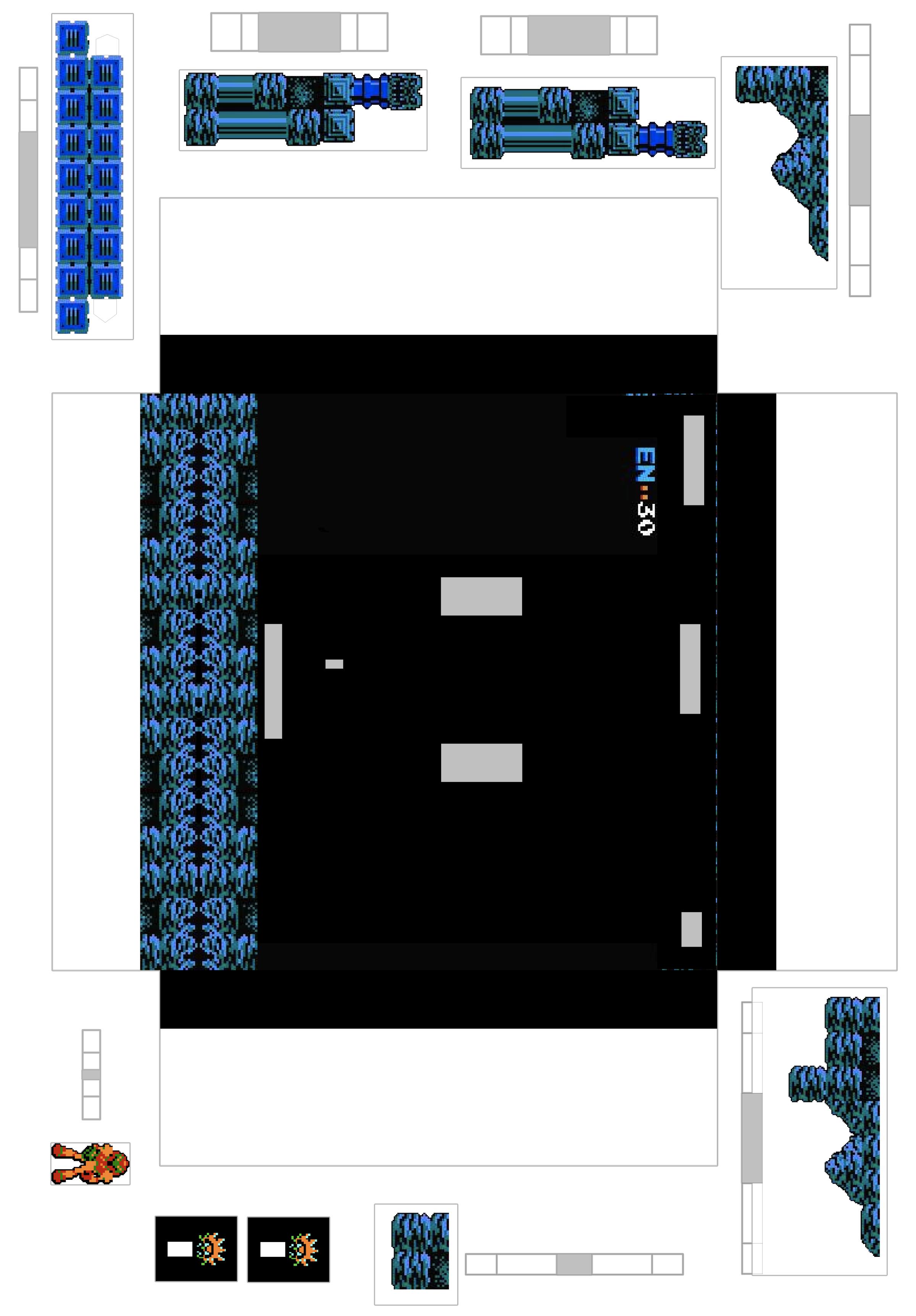 Ikea Ribba Papercraft Part 3 Metroid Dave S Geeky Ideas