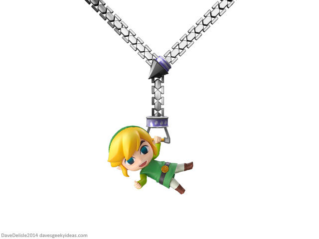 Zelda Hookshot Necklace Jewelry