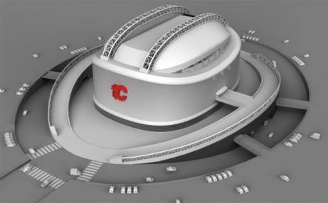 Calgary Flames Stetson Arena