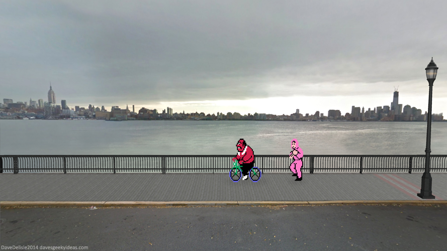 Punch-Out!! Wallpaper Running In New York