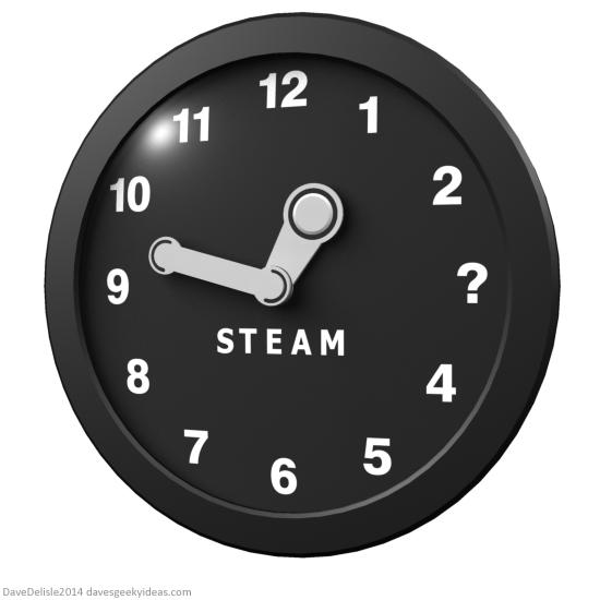 Steam Clock Valve Half Life 3 by Dave Delisle