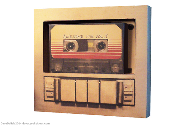 Guardians Of The Galaxy Cassette Papercraft