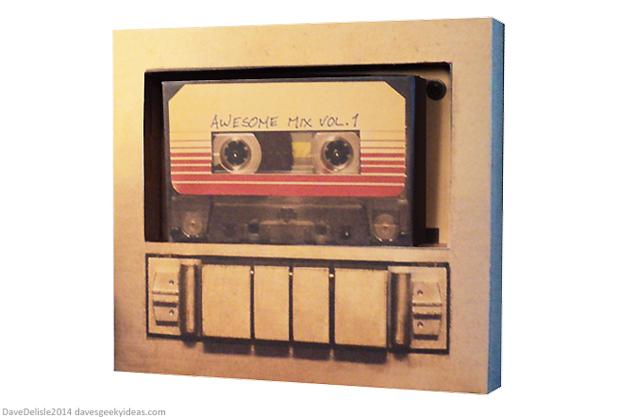 Guardians Of The Galaxy Cassette Papercraft