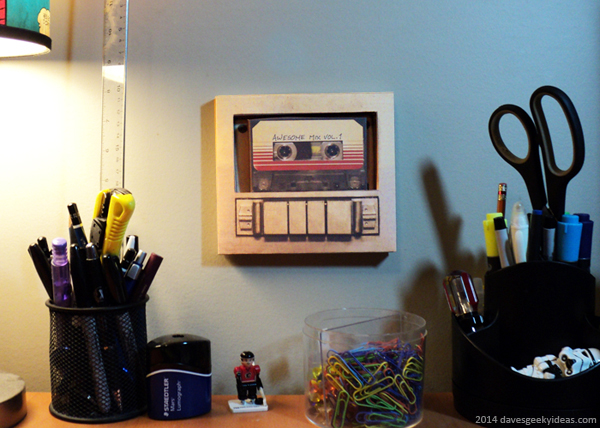 Guardians Of The Galaxy Cassette Player Papercraft Dave