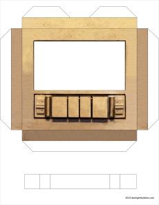 GOTG Papercraft 1