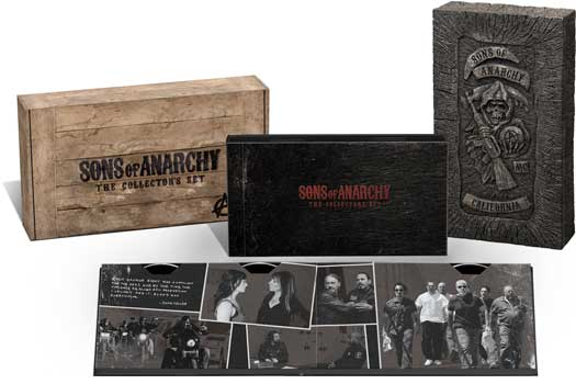 Sons Of Anarchy Blu-Ray DVD Case