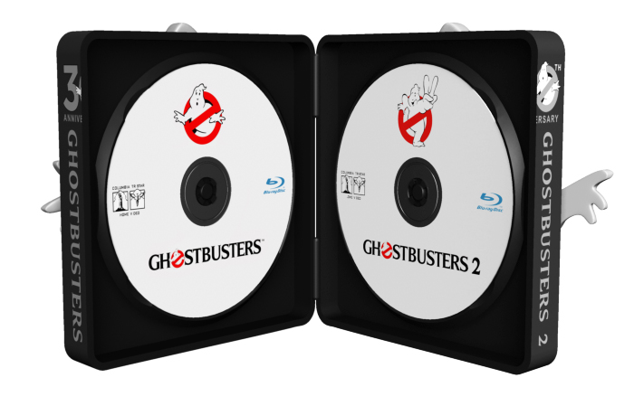 Ghostbusters Blu-Ray case design by Dave Delisle