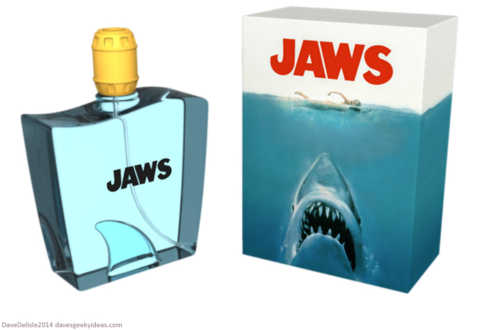 Jaws Scent Bottle design by Dave Delisle
