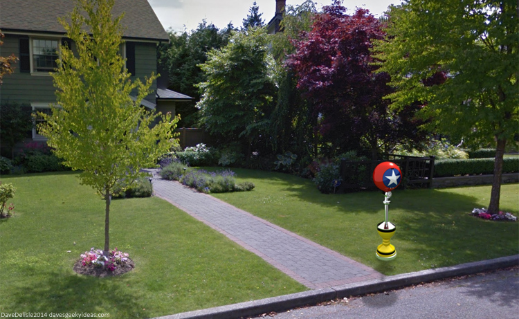 Sonic The Hedgehog Mailbox