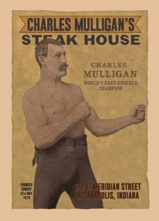 Charles Mulligan S Steak House Poster Dave S Geeky Ideas