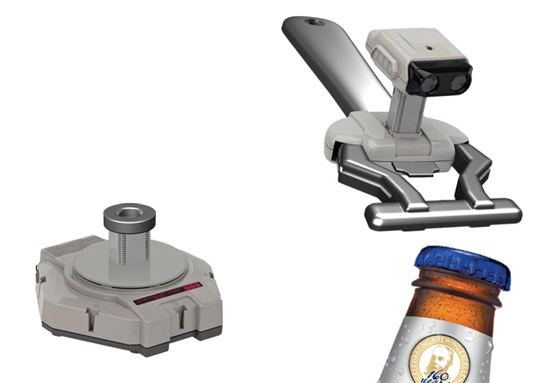Nintendo R.O.B. Bottle Opener by Dave's Geeky Ideas