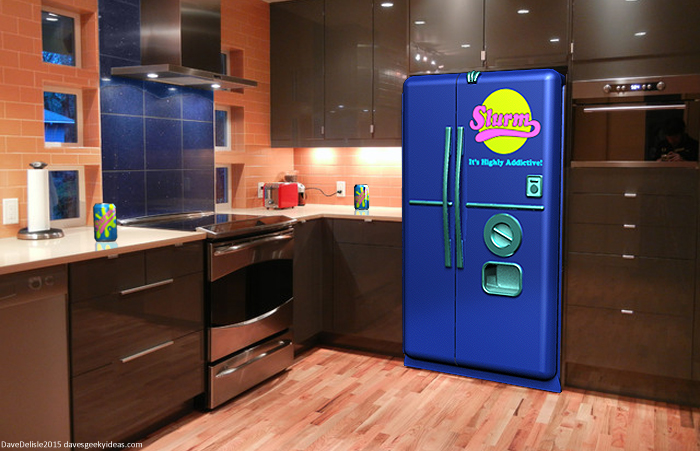 Slurm Vending Machine Fridge by davesgeekyideas