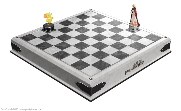 Final Fantasy Tactics Chess Board Set