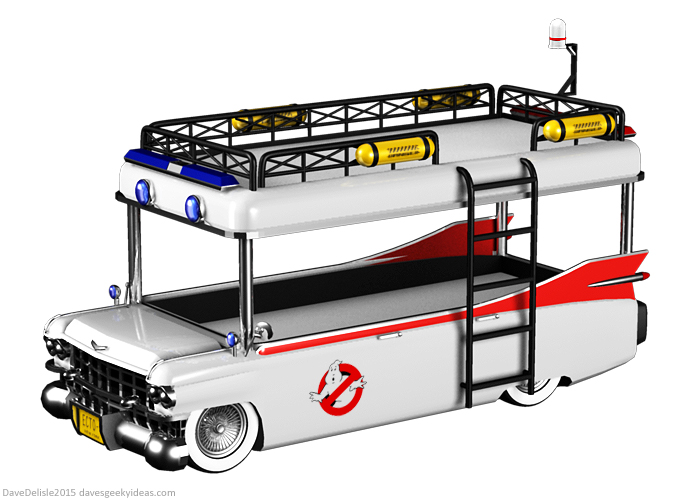 Ghostbusters Bunk Bed by davesgeekyideas