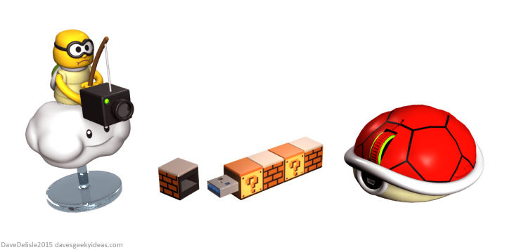 Nintendo USB products 2015 Dave Delisle