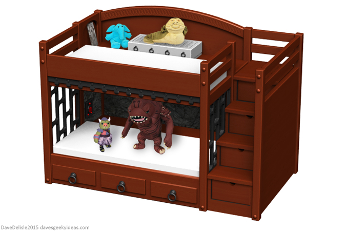 Star Wars Bunk Bed by Dave's Geeky Ideas