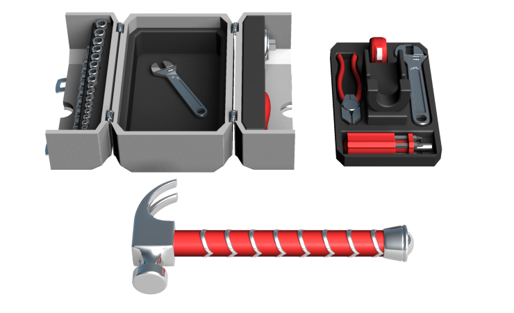 Thor Hammer Tool Kit Design by Dave Delisle 2016 dave's geeky ideas davesgeekyideas