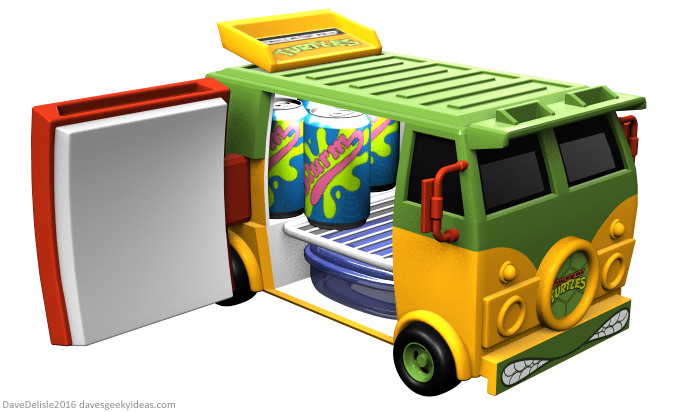TMNT Party Wagon by Dave's Geeky Ideas