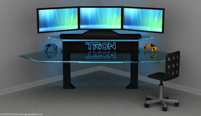 TRON Gaming Desk