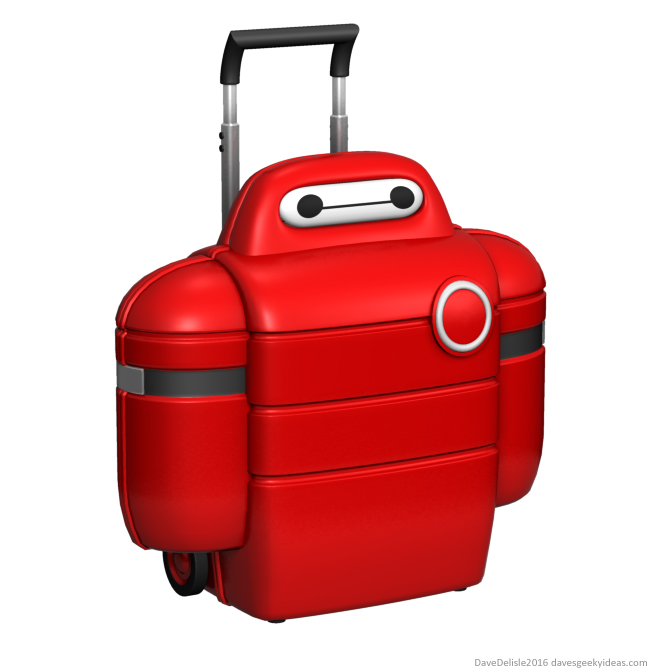 Baymax luggage case design 2016 dave delisle davesgeekyideas big hero 6