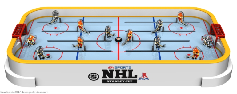 EA NHL 94 tabletop hockey by Dave Delisle
