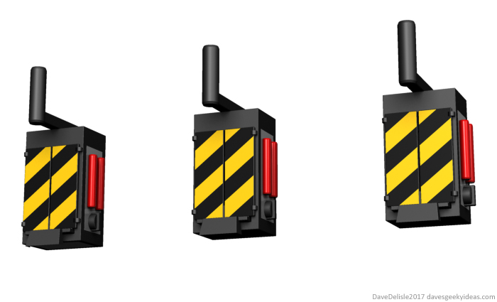 Ghostbusters Wall Hooks by Dave Delisle davesgeekyideas Dave's Geeky Ideas ghost trap