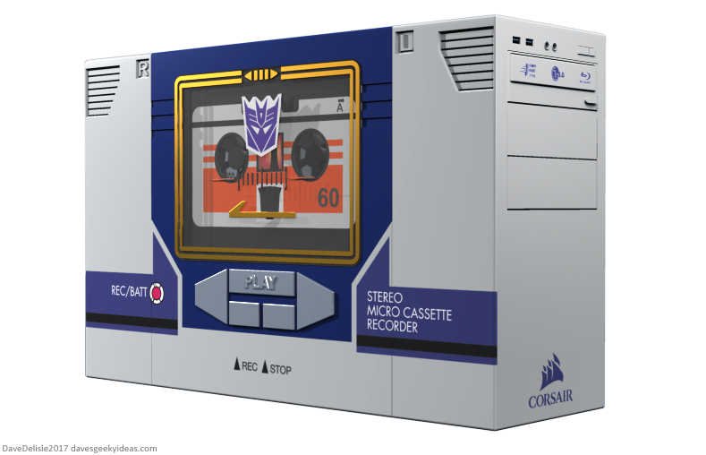 Soundwave PC case mod by Dave Delisle