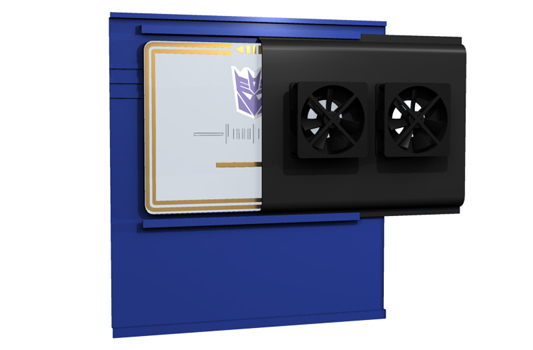 Soundwave PC Tower Case by Dave Delisle