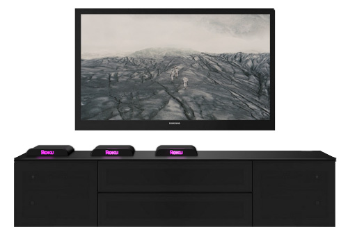 Roku Player Design by Dave Delisle