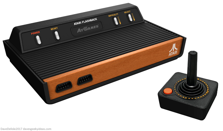Atari Flashback console redesign by Dave Delisle