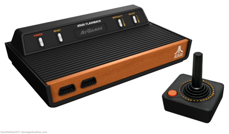 Atari Flashback redesign by Dave Delisle