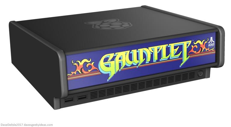 Raspberry Pi Arcade Console design by Dave Delisle