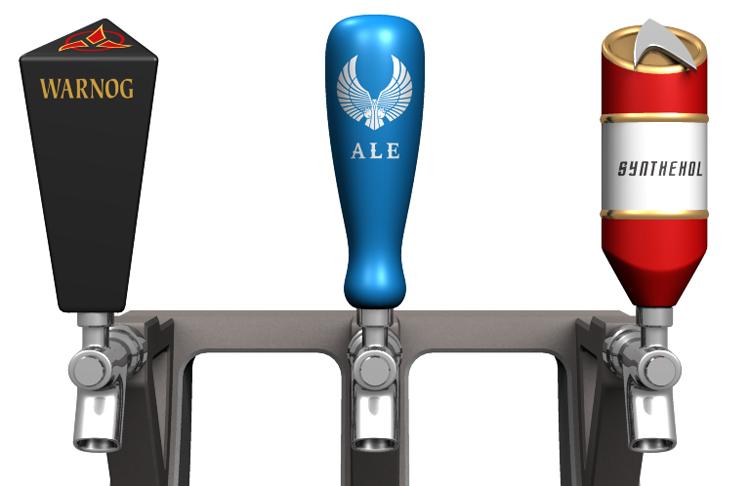 Star Trek beer tap dispenser by Dave Delisle