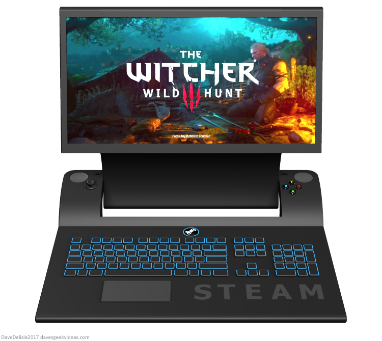 Steam controller gaming laptop 2017 Dave's Geeky Ideas