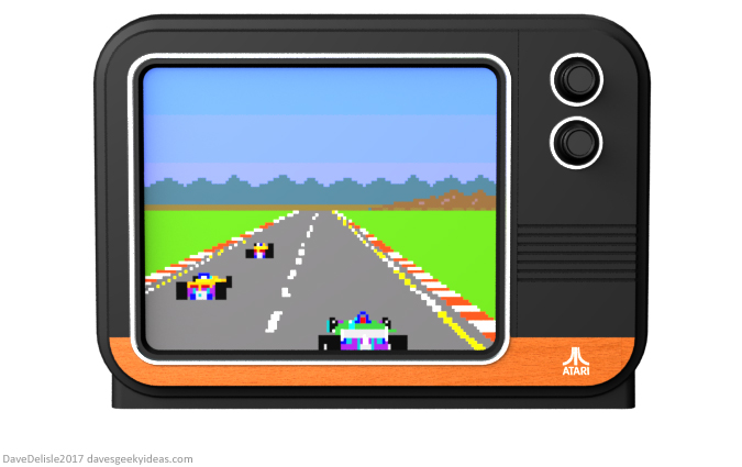 Atari TV design by Dave Delisle